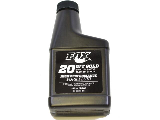 Fox Racing Shox 2015 Bath Oil AM, 20 WT Gold, 250ml